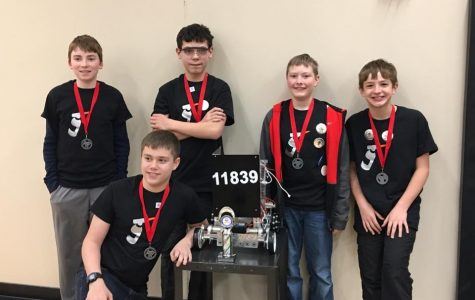 Robotics is one of many clubs available to VMSS students. The 2016-2017 Metal Melters featured here.