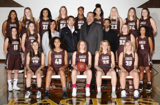 AVHS girls varsity basketball show off their skills