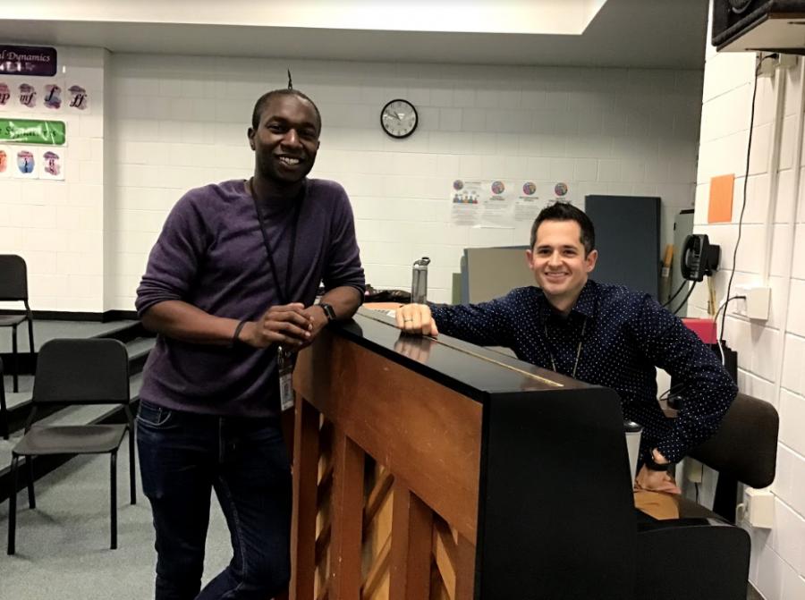 Choir teachers encourage school harmony