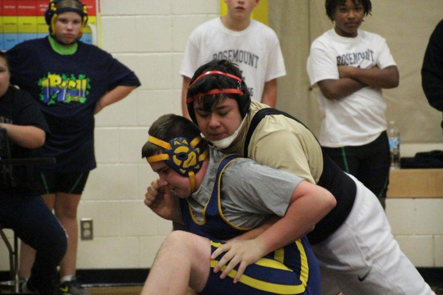 Student Spotlight: Wrestler AJ Garcia