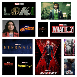 Upcoming Marvel Movies and TV Shows