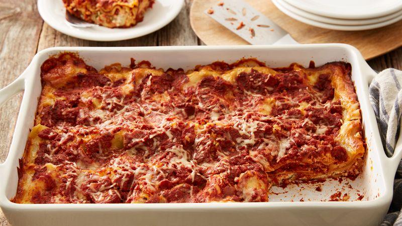 Recipe Review: Cheese Lasagna